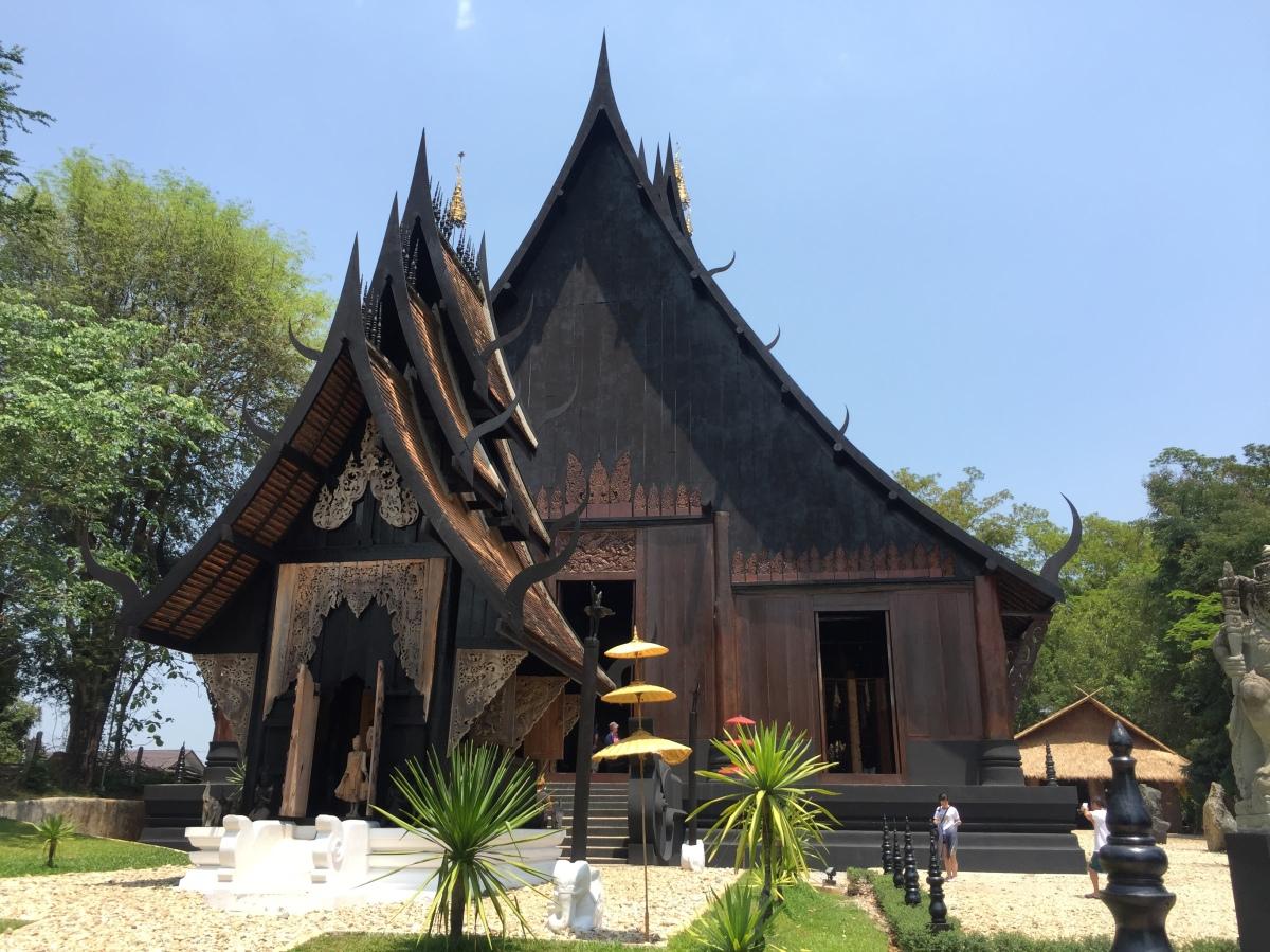 Black Temple, Chiang Rai,Thailand