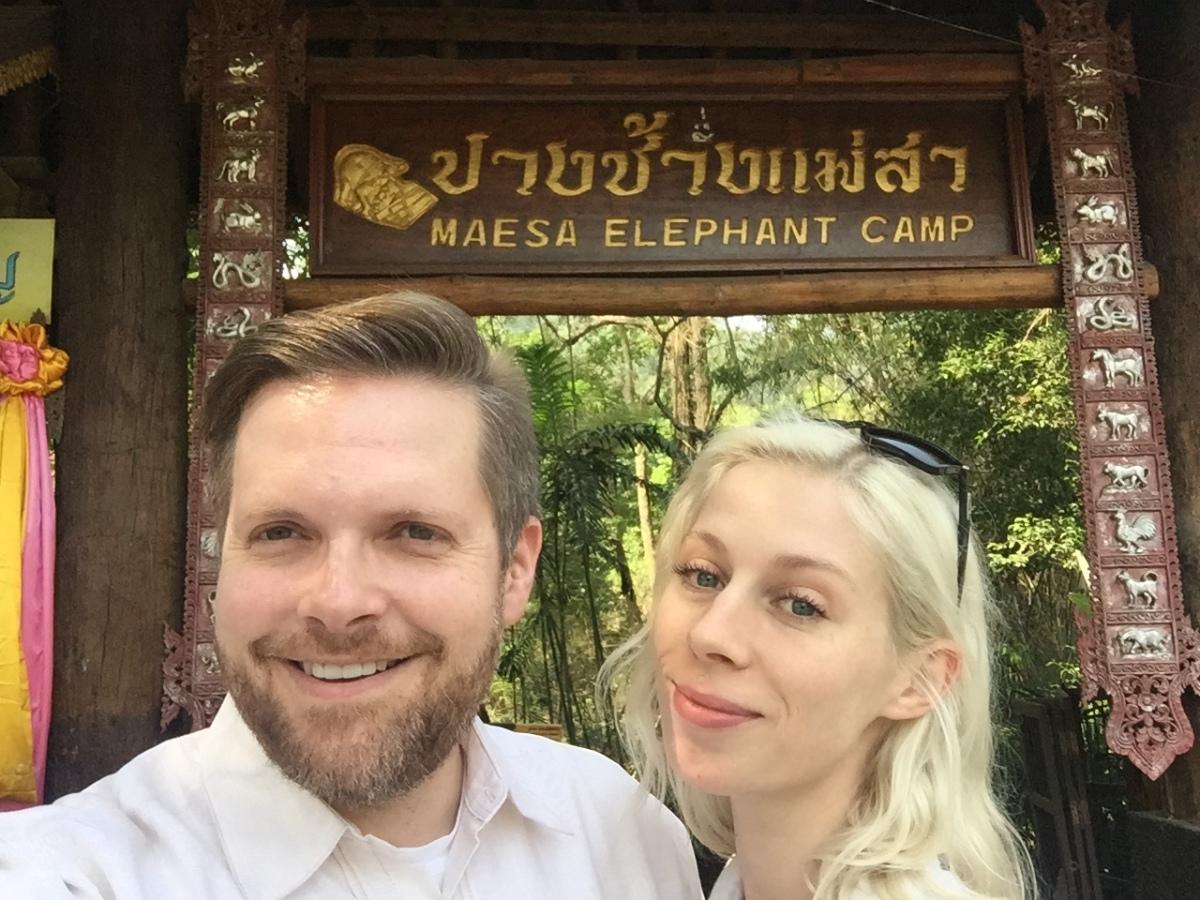 Maesa Elephant Camp, ChiangMai
