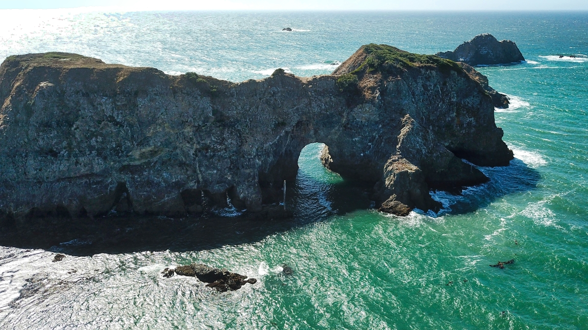 Sea Arches of the Mendocino Coast